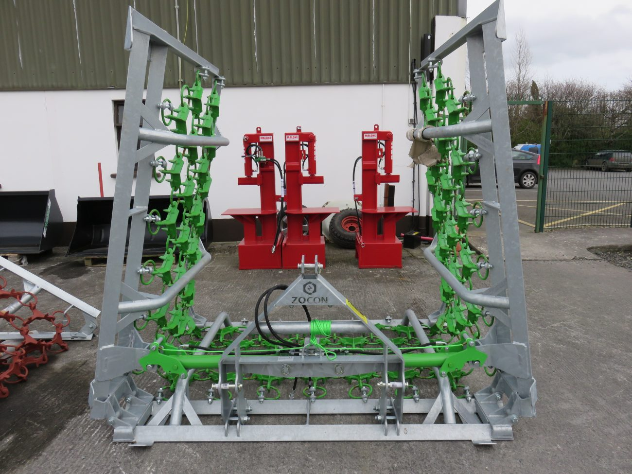 Zocon 4 Row Grassland Harrows