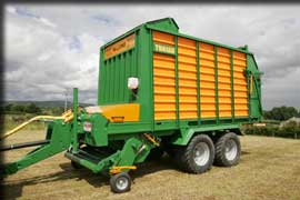 Malone Self Loading Silage Wagons