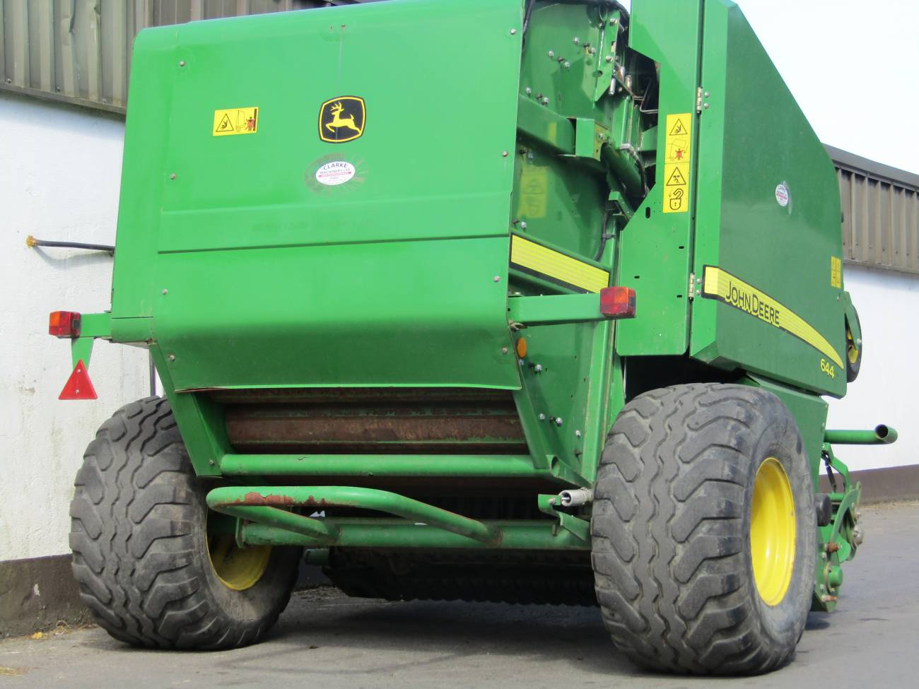 John Deere Operators Manual 644 Baler