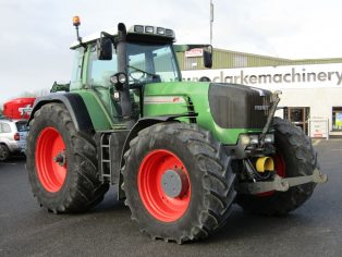 Fendt 930 vario tractor front linkage and pto
