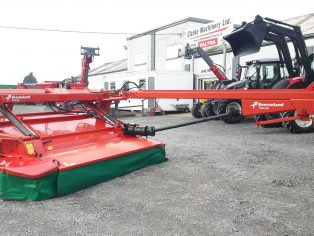 kverneland taarup mower conditioner with grouper