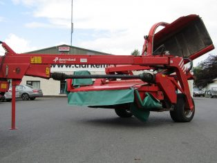 Kverneland taarup 4228 mower with autoswather