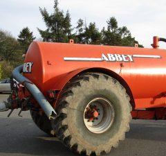 Abbey 1600gal Vacuum tank