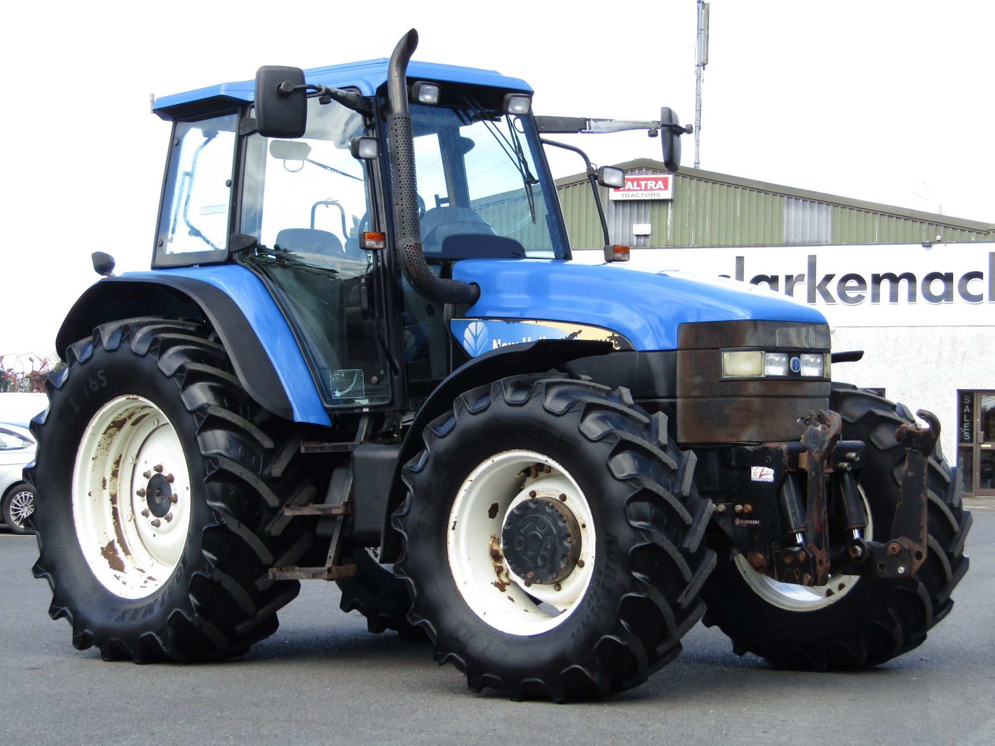 New Holland TM150 c/w Front Linkage | Clarke Machinery
