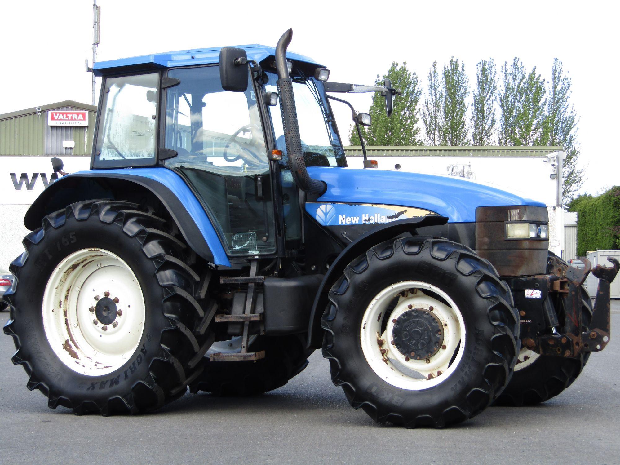 New Holland TM150 c/w Front Linkage | Clarke Machinery