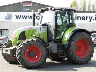 Claas Arion 640 tractor