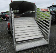 Nugent 12ft x 6ft livestock trailer