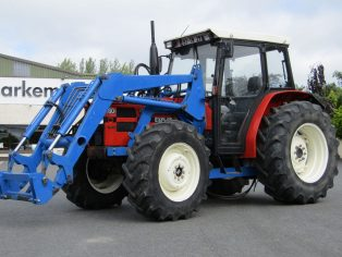 Same tractor with loader