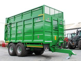Broughan grain and silage trailers kells