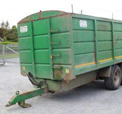 18ft mccullagh grain trailer