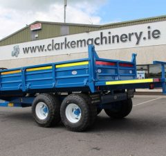 Donnelly Box trailer with Bale Extension