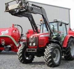 2005 Massey Ferguson with front loader