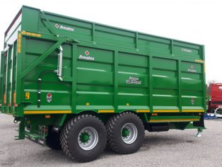 Broughan Grain & Silage trailer