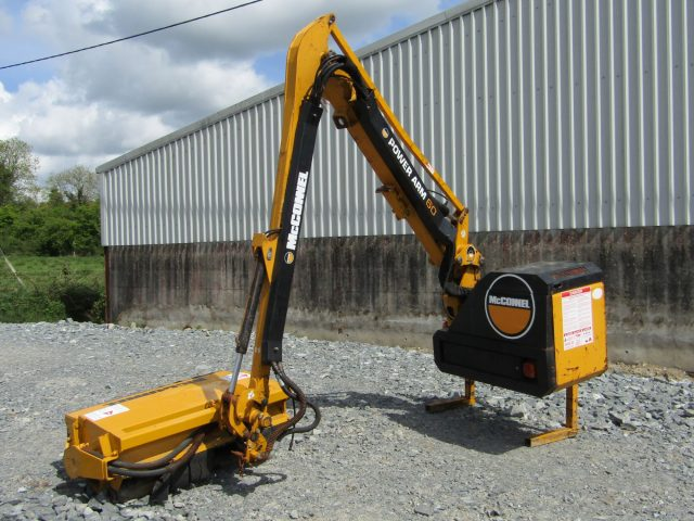 McConnel PA60 hedgecutter