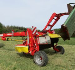 Pottinger Mower Conditioner with Grouper