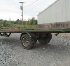24ft square bale trailer