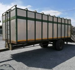20ft cattle trailer