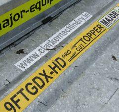 Major 9ft GDX HD Pro cut topper