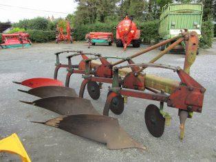 kverneland 4 furrow plough