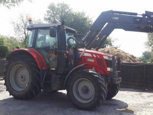 mf 6615 c/w loader