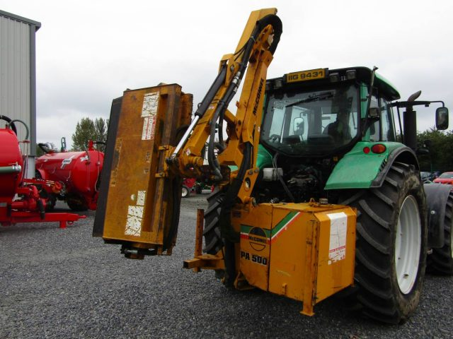 mcconnel pa500 hedgecutter