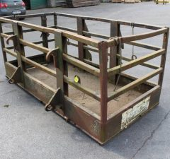 8ft safety cage